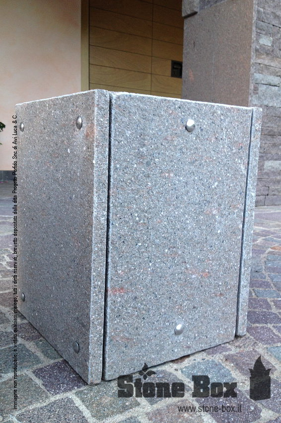 Stone Box in porfido LIGHT