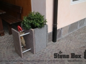 Stone Box in porfido ACQUA
